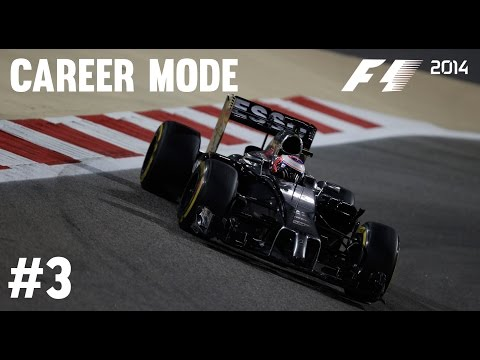 F1 2014 Career Mode Part 3 - Bahrain Grand Prix