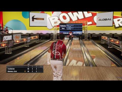PBA Pro Bowling PS4 Pro: Career Mode Part 1.. WALKING OUT SHOTS!