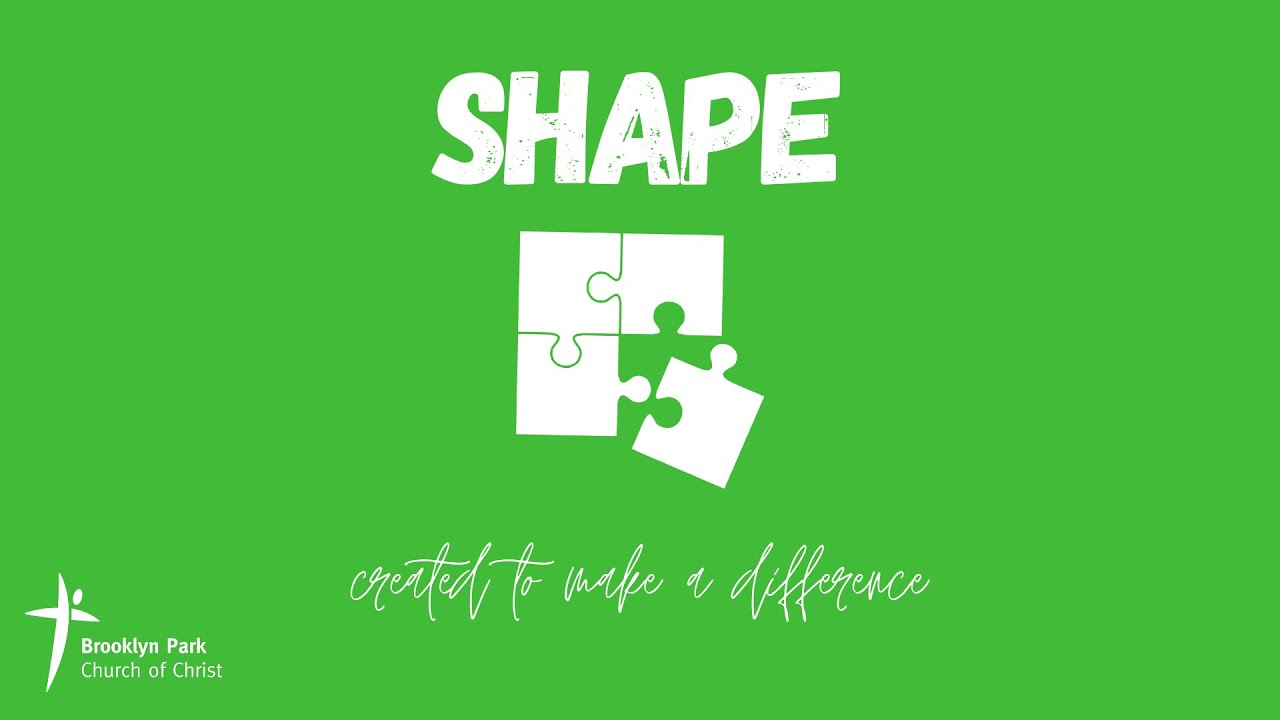 SHAPE - Created to make a difference (18th Oct, 2020)