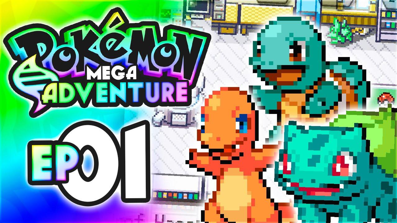 Ash And Serena Pokemon Mega Adventure Let S Play Walkthrough Episode 1 Youtube