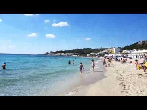 La spiaggia di Lido conchiglie a Sannicola (Gallipoli)