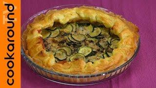Torta salata zucchine e gorgonzola / Ricette torte salate