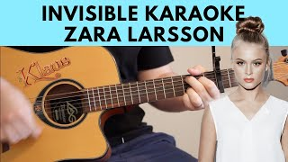 Invisible – Zara Larsson Karaoke / Instrumental Cover (From The Netflix Film Klaus)