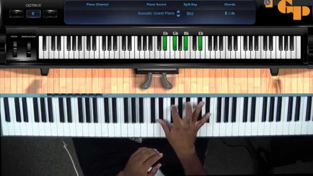 how to play when the saints go to worship keyboard tutorial youtube. Black Bedroom Furniture Sets. Home Design Ideas