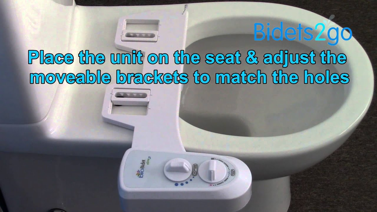 Installation Of A Bio Bidet Elite3 On A Close Coupled Toilet Youtube