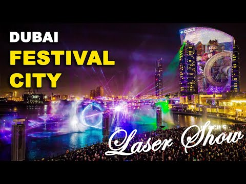 FESTIVAL CITY WATER & LASER MUSICAL SHOW 2019 |