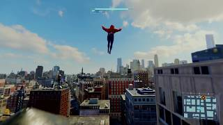 Marvel's Spider-Man - Web Swinging Gameplay