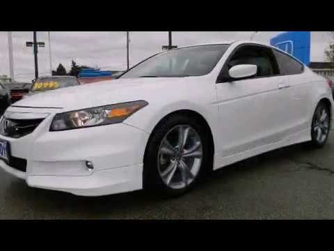 2011 Honda Accord 3 5 V6 Ex L With Navigation Youtube