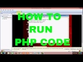 How to run PHP CODE in REDHAT