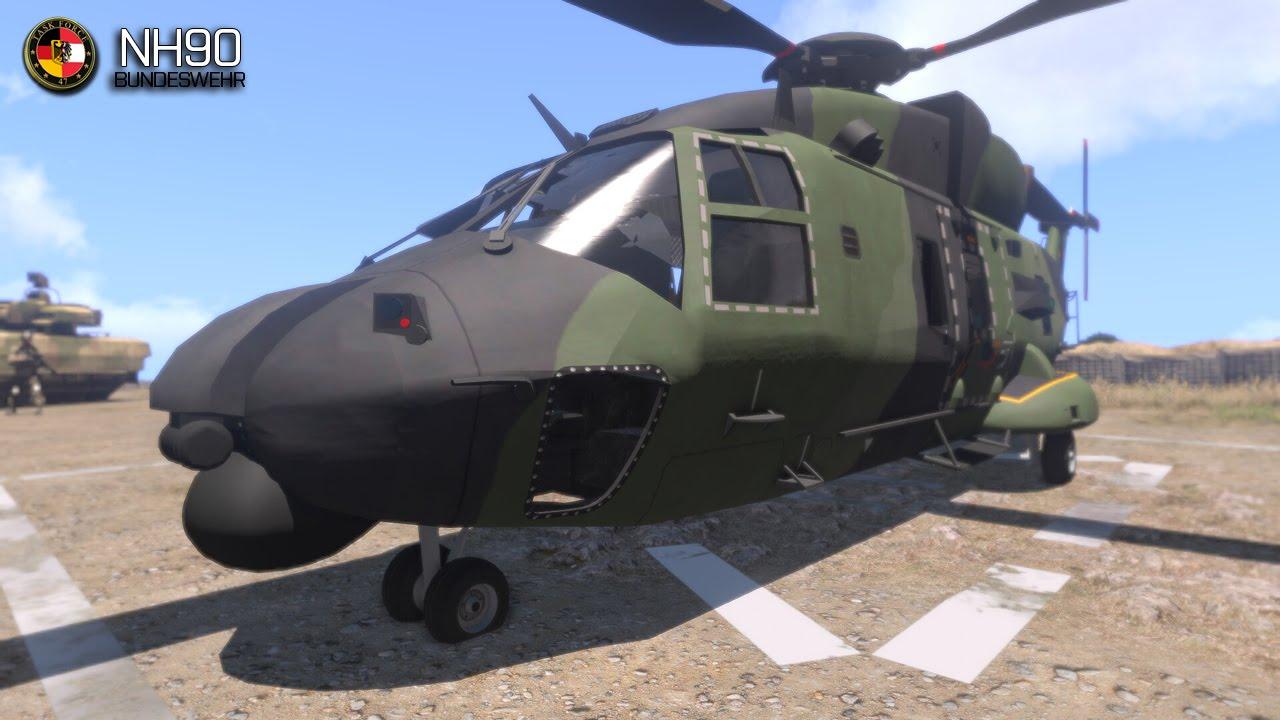 Arma 3 Elicottero : Arma hafm nh helicopter youtube