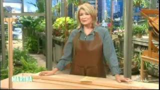 Fine Woodworking On The Martha Stewart Show