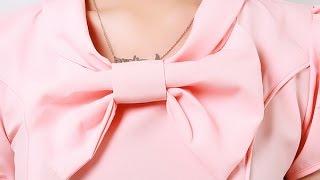 Đầm Công Sở Thái Lan Áo Thắt Nơ