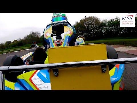 Super 1 British Karting Champs. 2018: Rd 2, Part 3, Honda Cadet