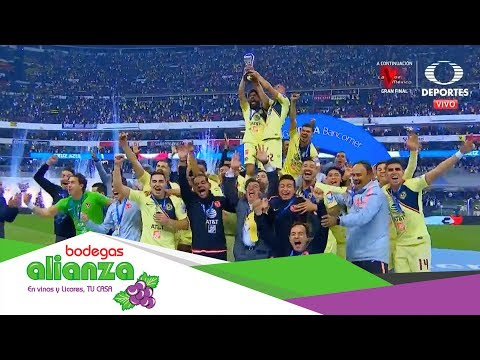 ¡América Campeón!   Cruz Azul 0 - 2 América   Final Apertura 2018   Televisa Deportes