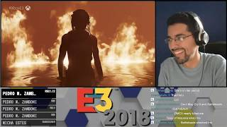 E3 2018 - Cyberpunk 2077 Microsoft Trailer Reaction!