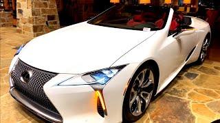 2021 Lexus LC500 Convertible Walkaround