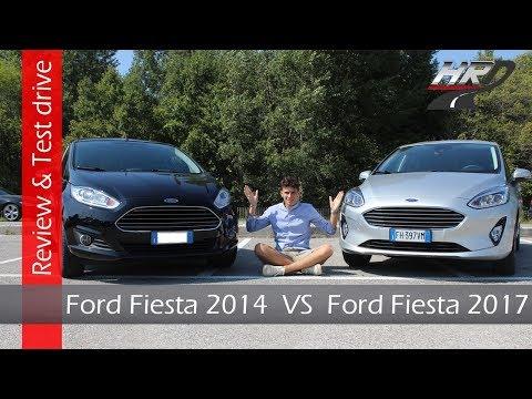 Nuova Ford Fiesta 2017 VS Ford Fiesta 2014 - recensione e test drive