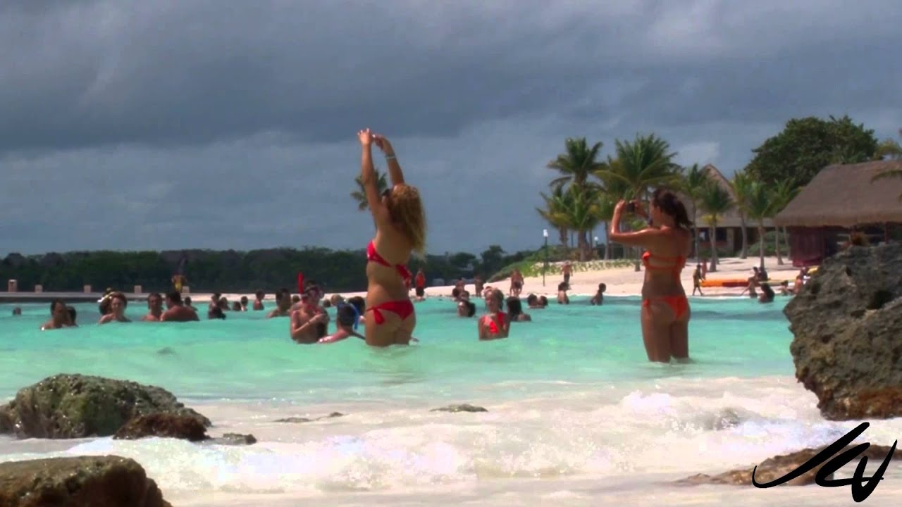 It S Cloudy At The Beach Barcelo Maya Riviera Mexico You