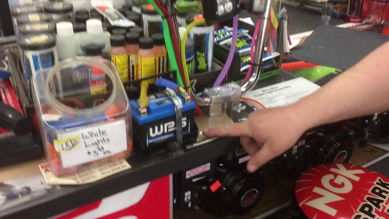 Mini Bike Brake Light And Turn Signal Kit Youtube