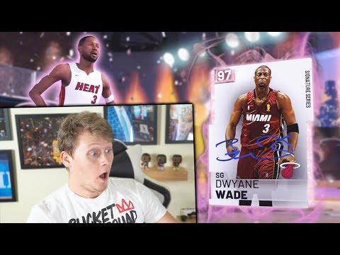 PINK DIAMOND DWYANE WADE PACK OPENING *CONTROLLER BROKEN* NBA 2K19