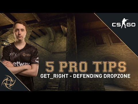 5 Pro Tips - GeT_RiGhT on defending dropzone (cobblestone)