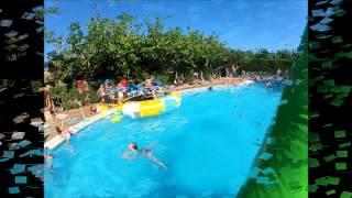 Festa acuática, Camping La Llosa, Cambrils
