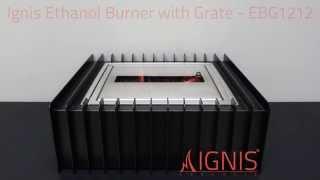 Ignis Ethanol Fireplace Grate Ebg1212