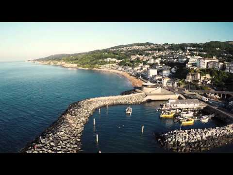 Ventnor - Isle of Wight - DJI Phantom 2 Quadcopter - GoPro Hero 4 HD