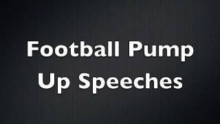 Football Pump Up Speeches