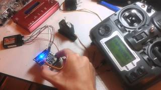 První test rádia a elektroniky