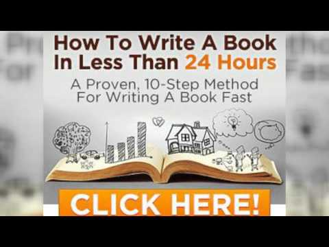 How to write my own book