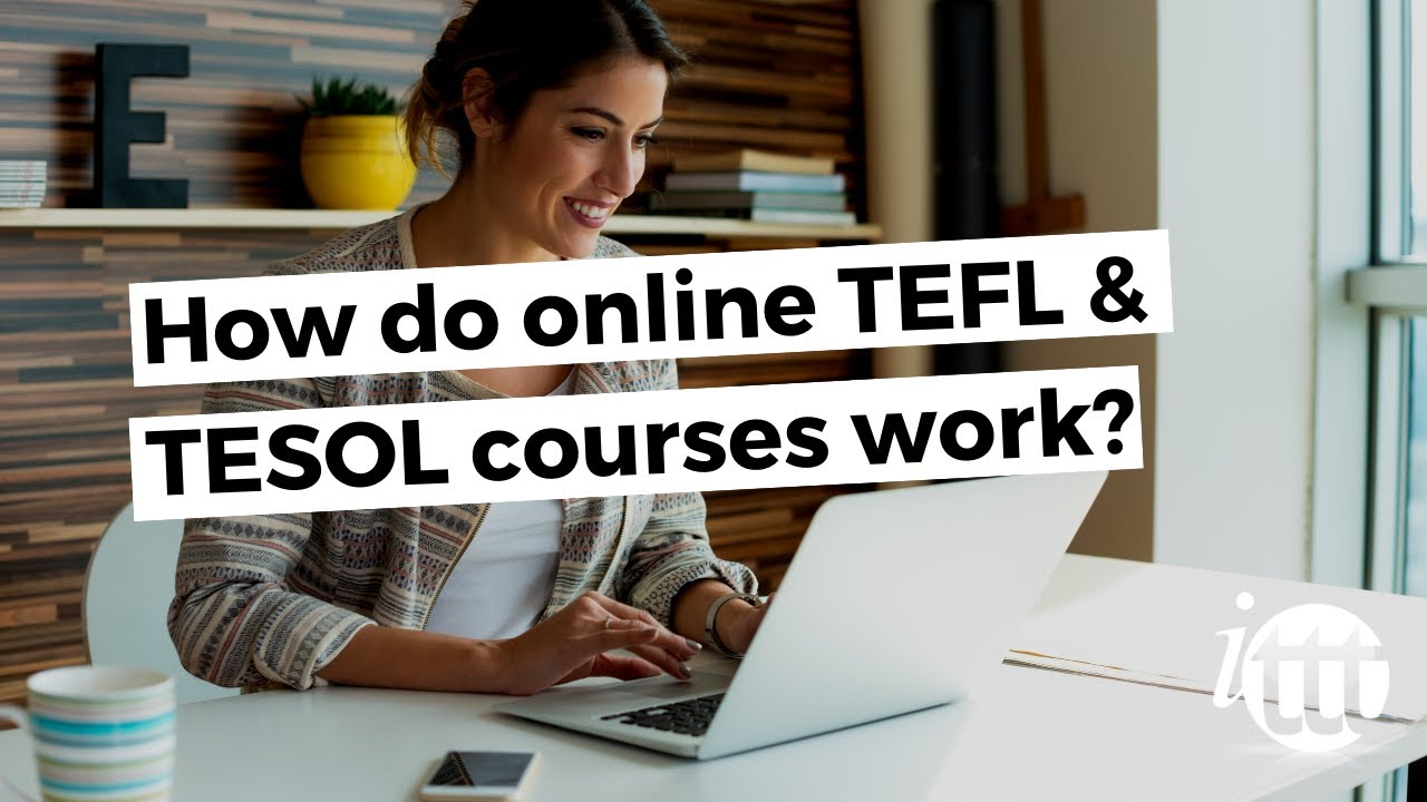 How do online courses work?