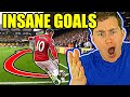 AMERICAN REACTS TO FOOTBALL SOCCER GOALS FOR THE FIRST TIME  so much skill