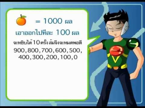 สื่อการเรียนการสอน The Smart (คณิตศาสตร์ ป.2)