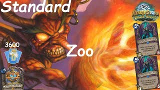 Hearthstone: Zoo Warlock Post-Nerf #6: Witchwood (Bosque das Bruxas) - Standard Constructed