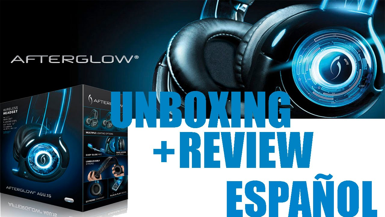 UNBOXING + REVIEW Afterglow AGU.1 Wired Headset (PS3,XBOX,WII,PC ...
