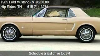 1965 Ford Mustang  for sale in Nashville, TN 37209 at the Hi