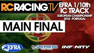 EFRA 1/10th IC Track Euros - The MAIN FINAL