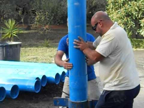 Rivestimento Pozzo Con Tubi In Pvc Con Giunto A Filetto Zirolia
