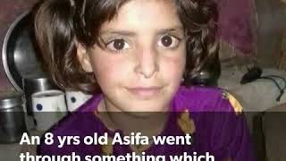 8 year old girl gang raped and murdered in hindu temple  by priest and indian police.