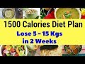 Indian Meal Plan To lose Weight Fast   Diet Plan For Permanent Weight lose