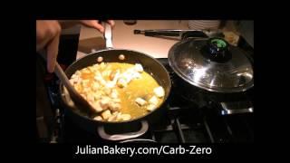 Mandarin Chicken With Cinnamon Carb Zero Bread