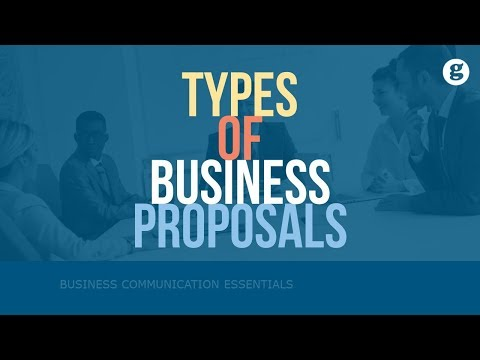 Types Of Business Proposals