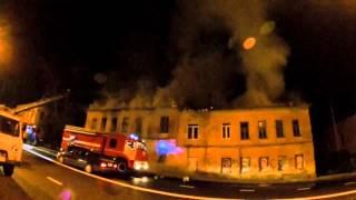 Пожар в Калуге. Баумана 30(, 2015-08-22T01:51:02.000Z)