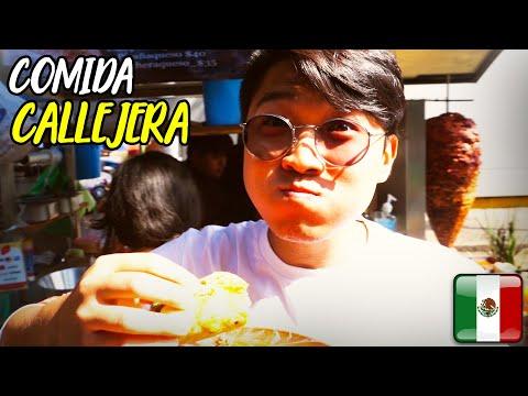 Buscando la COMIDA CALLEJERA ms RICA de la CDMX ft. Coreano Vlogs & kenroVlogs  NMQR  WeroWeroTV