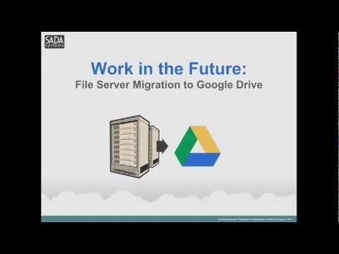 File Server Migration to Google Drive