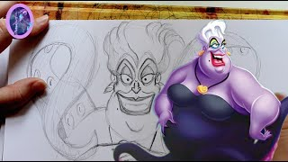 How to Draw URSULA from Disney