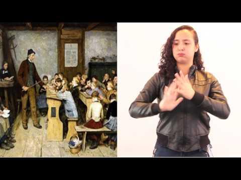 video de lengua de señas HISTORIA MUNDIAL 1