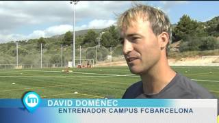 Reportaje FCB Campus Mallorca 2012 en Portals