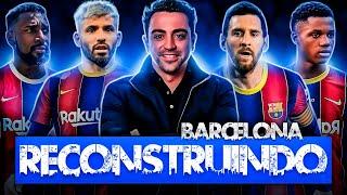 RECONSTRUINDO O BARCELONA #01 - PES 2021